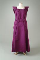 Taffeta Dinner Dress with Large Bustle, 1938