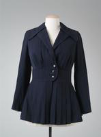 Suit jacket with Pleats at Waistline, 1928