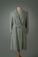 Pebbled Crepe Day Coat, 1937