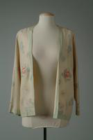 Iridescent Wool Jacket with Embroidered Flowers, 1928