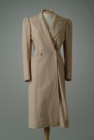 Doubled Breasted Wool Day Coat, 1942