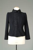 Wool Jacket with Persian Lamb Collar and Edging, 1948