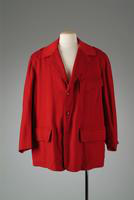 Red Wool Hunting Jacket, 1947