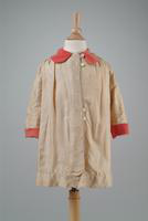 Child's Jacket with Red Collar and Cuffs, 1943