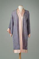 Embroidered Georgette Evening Coat, 1927