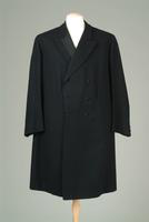Men's Wool Single-Breastesd Evening Coat, 1912