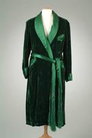 Crushed Silk Velour Dressing Robe, 1937
