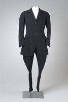 Men's Two-Piece Wool Riding Habit, 1930