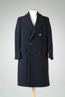 Men's Double-Breasted Wool Dress Coat, 1931