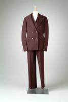 Men's Three-Piece Pin-Striped Suit, 1933