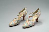 Printed Chinz Shoes, 1937