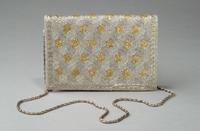 Metallic Beaded Evening Bag, 1940