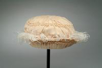 Child's Chiffon Hatat with Smocked Crown and Brim, 1921