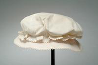 Child's Percale Summer Hat Trimmed with Rickrack, 1920