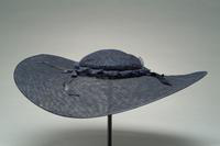 Lace Picture Hat with Satin Bows, 1943