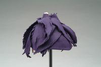 Felt Hat with Cut Felt Accents, 1940