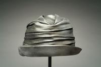 Metallic Scrunched Fabric Cloche, 1935