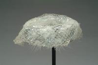 Sequined Pill Box Hat with Veil and Feathers, 1950