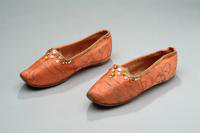 Boy's Brocade Arabian Nights Shoes, 1922