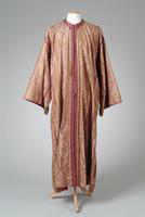 Gold and Lavender Asian Style Robe, 1935
