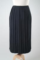 Pleated Crepe Skirt, 1936