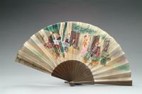 Fan with Wood Monture, 1935