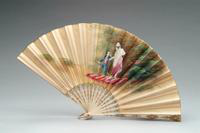 Fan with Ivory Monture, 1875