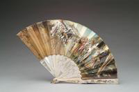Fan with Mother of Pearl monture, 1915