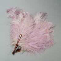 Hand Fan of Ostrich Feathers, 1920