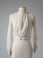 White Cotton Batiste Blouse, 1908