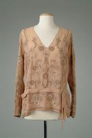 Embroidered Georgette Blouse, 1926