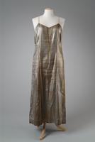 Black and Silver Lame Slip, 1920