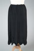Embroidered Black Half Slip, 1920