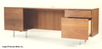Herman Miller Secretarial-L Desk
