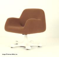Herman Miller Medium Back Armchair ~ Tilt Swivel Pod Base