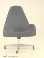 Herman Miller High Back Armchair ~ Tilt Swivel Four-Point Base ~ Caster