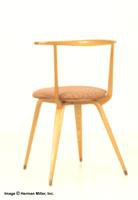 Herman Miller Laminated Wood Side Chair