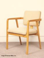 Herman Miller Arm Chair-Wood Frame