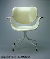 Herman Miller Flexible Back Plastic Lounge Chair