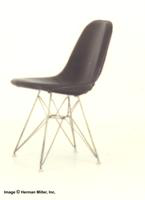 Herman Miller Upholstered Wire Chair