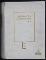 History of the horn-book. Volume 2