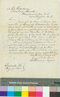 Letter from Catharine Myers to Abraham Lincoln, Forwarded to Thaddeus Stevens
