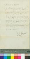 Recommendation Letter to Abraham Lincoln for R.K. Williams