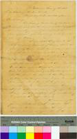 Letter to Abraham Lincoln from Arthur O. Brickman
