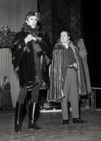 Ronald Holgate as Baron Scarpia, Kenneth Young as Sciarrone, Scarpia's orderly. Cast 2