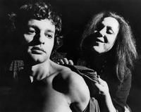 Sal Mineo as Toby, Muriel Greenspon as Madame Flora
