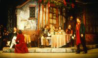 Sheri Greenawald as Musetta, Roman Terleckyj as Alcindoro, Saverio Babieri as Colline, Jerold Norman as Rodolfo,  mariana Christos as Mimi, Robert Gray as Schnaurd, Allan Glassman as Marcello