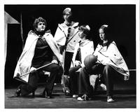 Gordon Finlay as Tamino, Richard Gordon, John Gordon, Leslie Gordon as Three Spirits