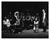 Ron Raines as Papageno, Kathleen Battle as Pamina, Christopher Deane as Sarastro, Lorraine Santore as First Lady, Elsie Inselman as Second Lady, Ann Hart as Third Lady