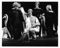 Ron Raines as Papageno, Lorraine Santore as First Lady, Elsie Inselman as Second Lady, Ann Hart as Third Lady, Gordon Finlay as Tamino